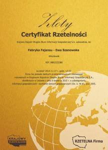 fajans_certyfikat